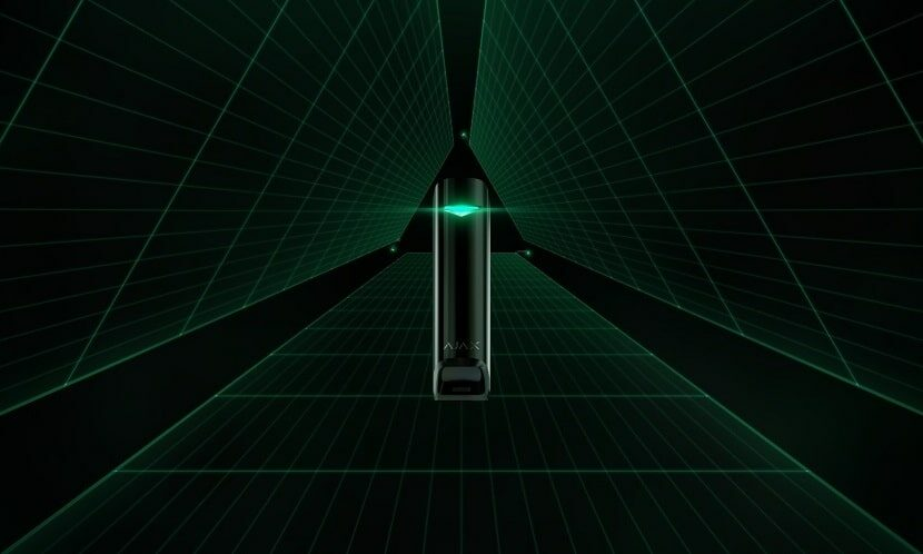 Охоронні системи Ajax MotionProtect Curtain: новий датчик-штора для захисту вашого майна