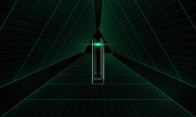 Охранные системы Ajax MotionProtect Curtain: новый датчик-штора для защиты вашего имущества