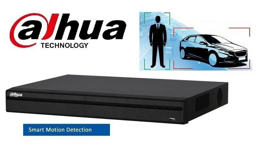 Відеонагляд Smart Motion Detection від Dahua: детекція руху з використанням штучного інтелекту