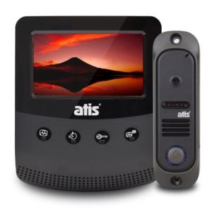 Домофони/Відеодомофони Комплект відеодомофону Atis AD-430B Kit box