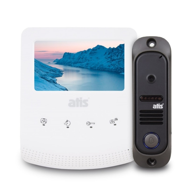 Домофоны/Видеодомофоны Комплект видеодомофона Atis AD-430W Kit box