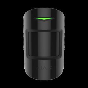 Охоронні системи/Датчики Бездротовий датчик руху і розбиття Ajax CombiProtect black