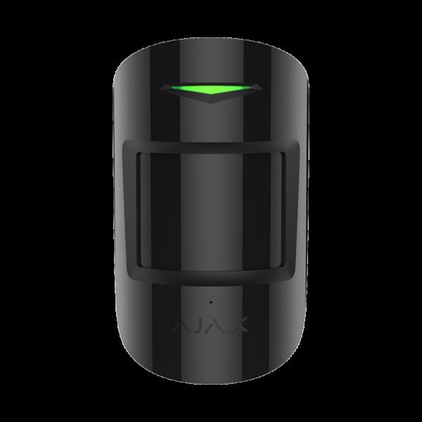 Охранные сигнализации/Охранные датчики Беспроводный датчик движения и разбития Ajax CombiProtect black