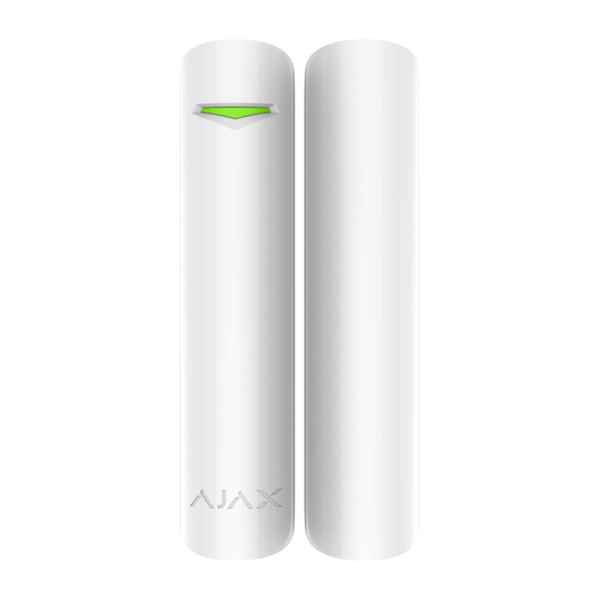 Security Alarms/Security Detectors Wireless magnetic opening detector Ajax DoorProtect Plus white with shock and tilt sensor
