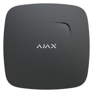 Охоронні системи/Датчики Бездротовий датчик диму Ajax FireProtect black з температурним сенсором