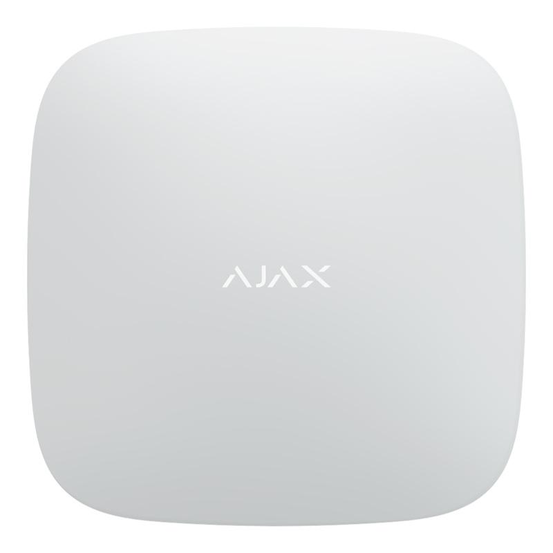 Інтелектуальна централь Ajax Hub 2 white з фотопідтвердженням тривог