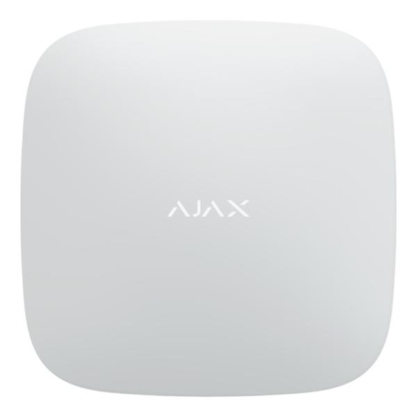 Security Alarms/Control panels, Hubs Intelligent security control panel Ajax Hub Plus white with enhanced communication capabilities