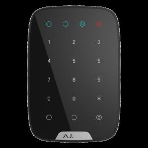 Охоронні системи/Клавіатури Бездротова сенсорна клавіатура Ajax KeyPad black