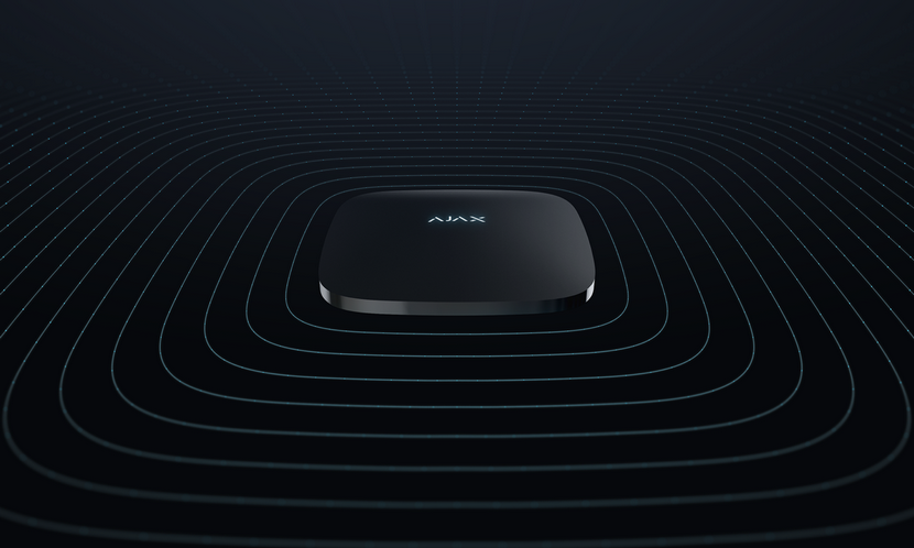 Охоронні системи Ajax ReX: інтелектуальний ретранслятор сигналу централі, для забезпечення безпеки великих об'єктів