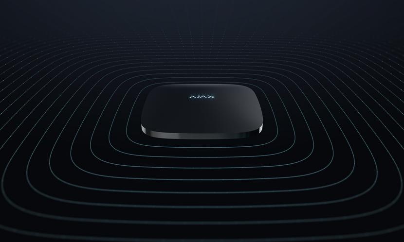 Охранные системы Ajax ReX: интеллектуальный ретранслятор сигнала централи, для обеспечения безопасности больших объектов