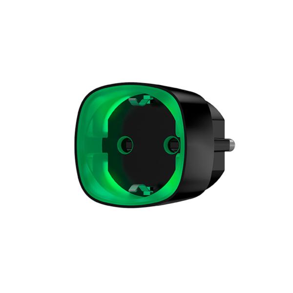 Охоронні сигналізації/Автоматизація, Розумний будинок Радіокерована розумна розетка Ajax Socket black з лічильником енергоспоживання