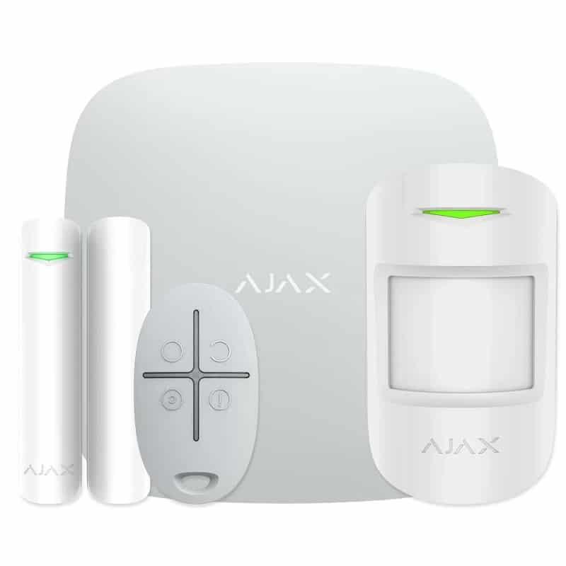 Комплект бездротової сигналізації Ajax StarterKit white