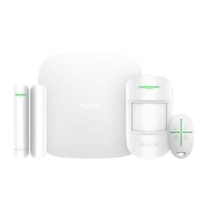 Охранные системы/Комплекты сигнализаций Комплект беспроводной сигнализации Ajax StarterKit Plus white с расширенными возможностями