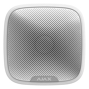 Охоронні системи/Сирени Бездротова вулична сирена Ajax StreetSiren white