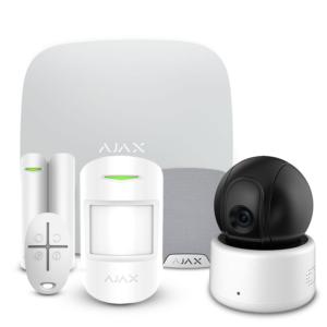 Security systems/Alarm Kits Alarm Kit Ajax StarterKit + HomeSiren white + Wi-Fi Camera 2MP-D