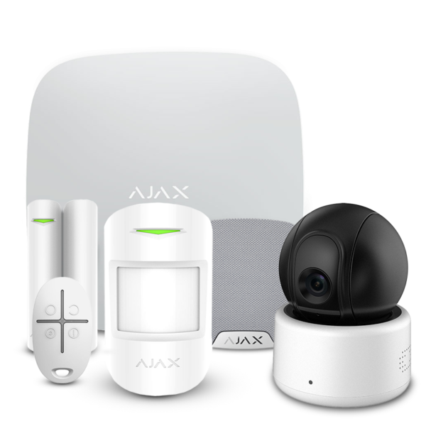 Security Alarms/Alarm Kits Alarm Kit Ajax StarterKit + HomeSiren white + Wi-Fi Camera 2MP-D
