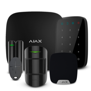 Security systems/Alarm Kits Wireless Alarm Kit Ajax StarterKit + KeyPad + HomeSiren black
