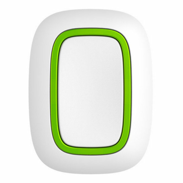 Охоронні сигналізації/Тривожні кнопки, Брелоки Тривожна кнопка Ajax Button white