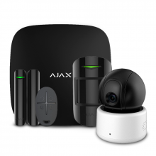 Security systems/Alarm Kits Wireless Alarm Kit Ajax StarterKit black + Wi-Fi Camera 2MP-D