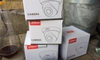 Установка чотирьох IP відео камер на території приватного будинку (Кропивницький)