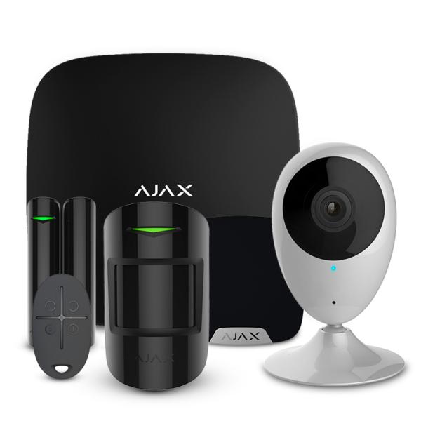 Security Alarms/Alarm Kits Alarm Kit Ajax StarterKit + HomeSiren white + Wi-Fi Camera 2MP-H