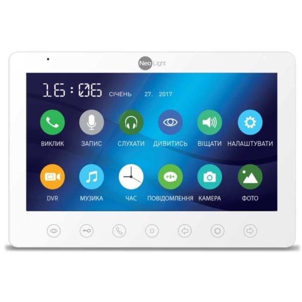 Домофоны/Видеодомофоны Видеодомофон Neolight Gamma HD white