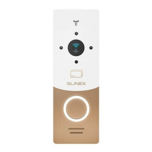 Домофоны/Вызывные видеопанели Вызывная видеопанель Slinex ML-20CR gold+white