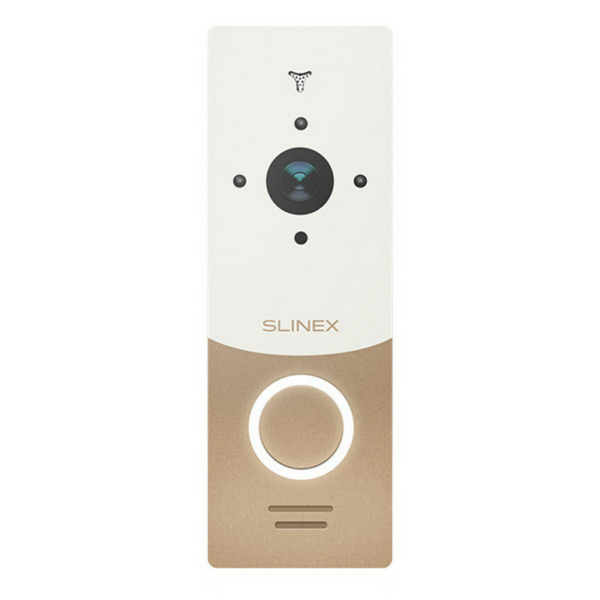 Intercoms/Video Doorbells Video Doorbell Slinex ML-20HR gold+white