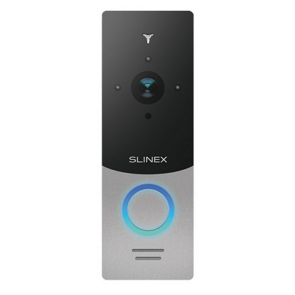Intercoms/Video Doorbells Wi-Fi IP Video Doorbell Slinex ML-20IP silver+black