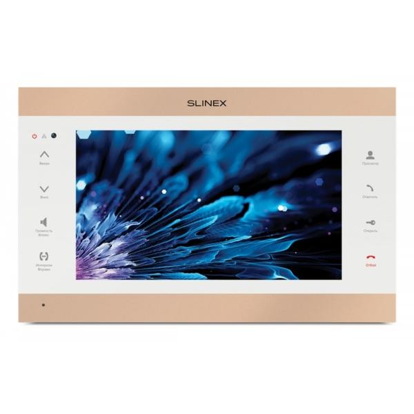 Домофоны/Видеодомофоны Видеодомофон Slinex SL-10IPT FHD gold+white