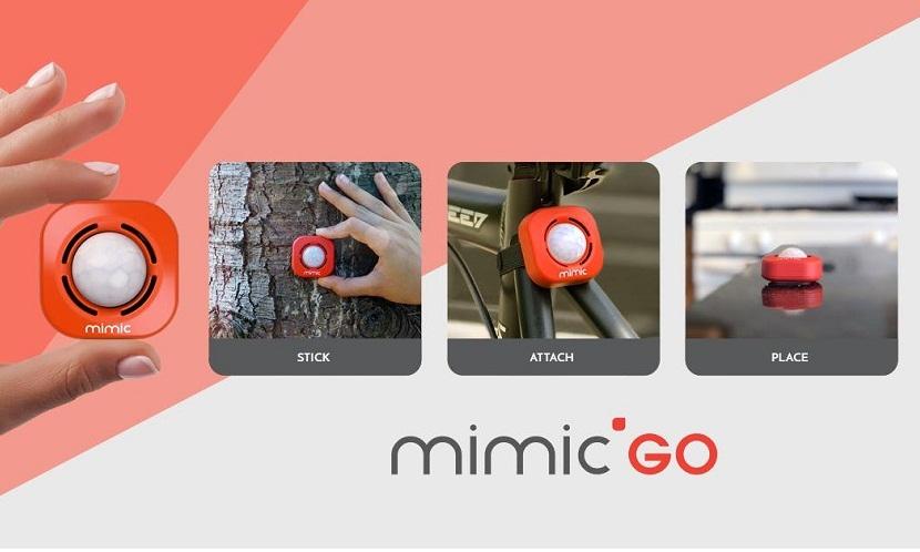 Охоронні системи Mimic GO: найменша в світі система безпеки