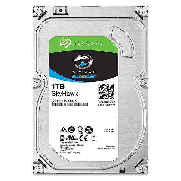 Відеонагляд/Жорсткі диски (HDD) для відеоспостереження Жорсткий диск Seagate Skyhawk ST1000VX005 1 TB