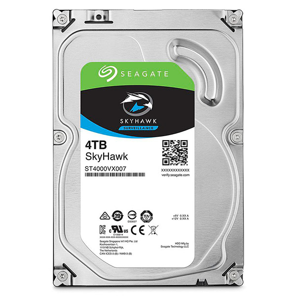 Відеонагляд/Жорсткі диски (HDD) для відеоспостереження Жорсткий диск Seagate Skyhawk ST4000VX007 4 TB