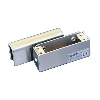 Ответная алюминиевая планка BBK-600 с креплением на стеклянную дверь без рамы для замков серии YB-100/200