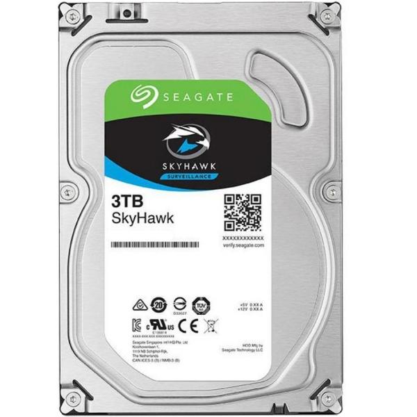 Відеонагляд/Жорсткі диски (HDD) для відеоспостереження Жорсткий диск Seagate Skyhawk ST3000VX009 3 TB