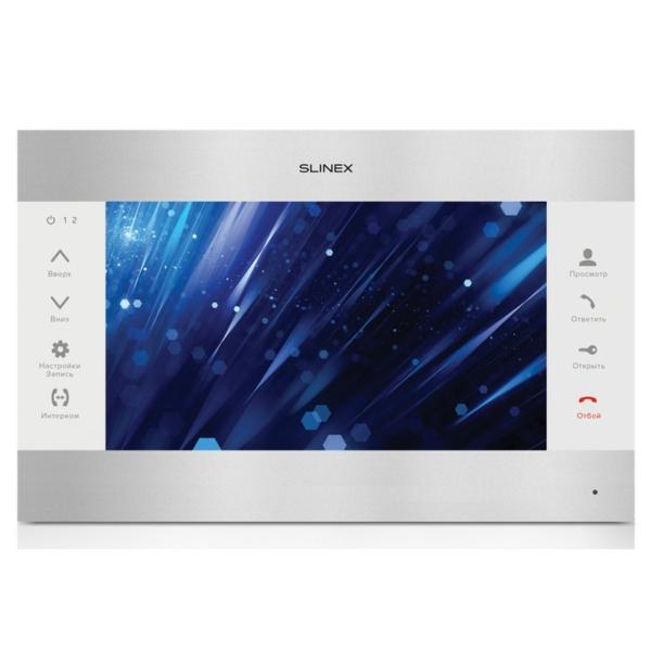 Домофони/Відеодомофони Відеодомофон Slinex SL-10M silver+white