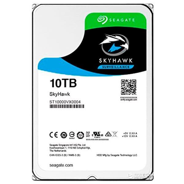 Видеонаблюдение/Жесткие диски (HDD) для видеонаблюдения Жесткий диск Seagate Skyhawk ST10000VX0004 10 TB
