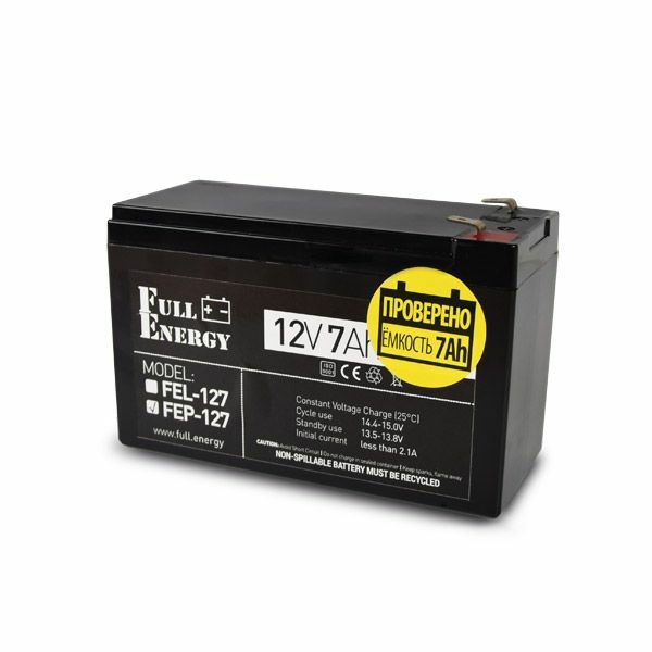 Power sources/Rechargeable Batteries Battery Full Energy FEP-127