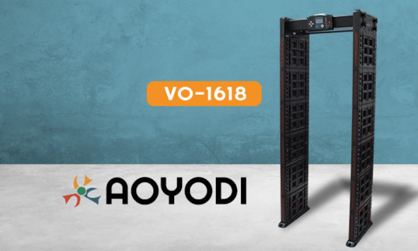 Контроль доступу VO-1618 – новинка у світі металодетекторів від бренду AOYODI