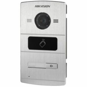 Intercoms/Video Doorbells IP Video Doorbell Hikvision DS-KV8102-IM with integrated reader