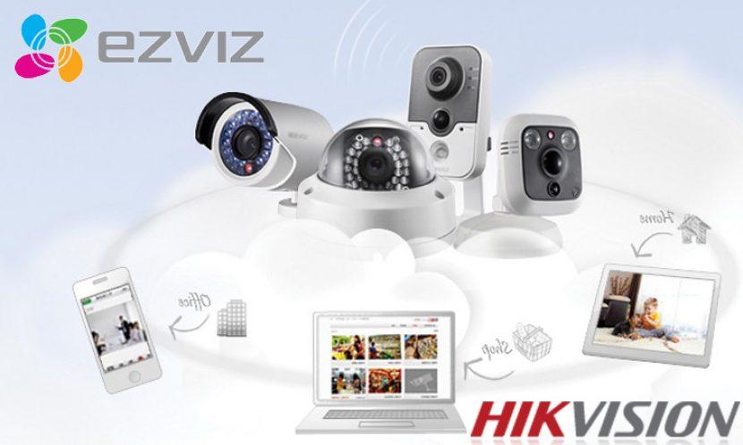 Відеонагляд Ezviz - новий бренд домашнього відеоспостереження