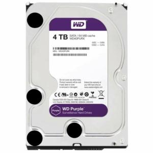 Video surveillance/HDD for CCTV HDD Western Digital Purple WD40PURX 4TB