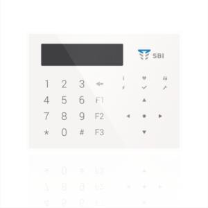 Охранные системы/Клавиатуры Клавиатура Tiras Orion К-GLCD white