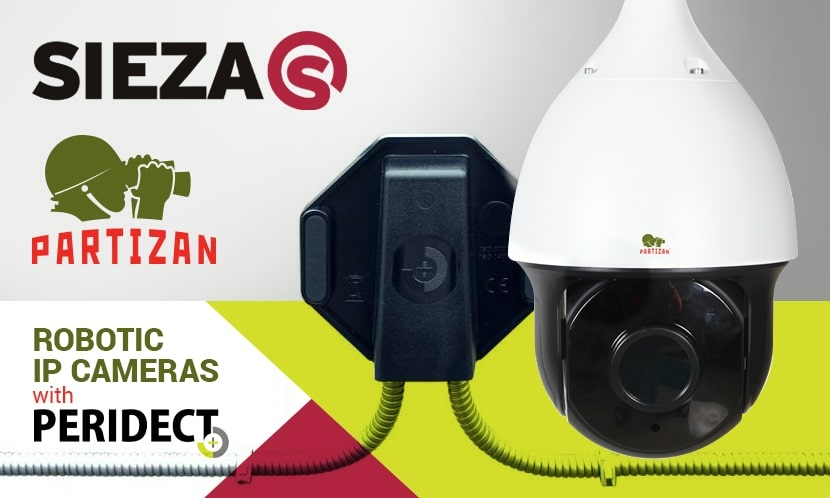 Video surveillance SIEZA has completed the integration of Partizan cameras with the Perimeter Intrusion Detection System Peridect+