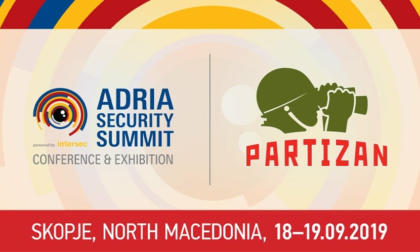 Video surveillance Partizan Security Is Taking Part In The Adria Security Summit 2019