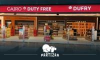 Камери Partizan забезпечують безпеку в зоні Duty Free головного аеропорту Єгипту