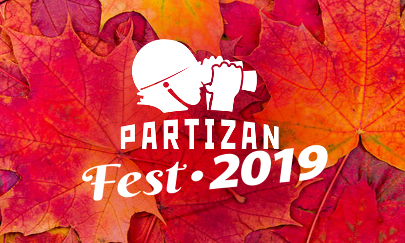 Video surveillance We invite you to the annual Partizan Fest!