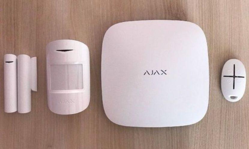 Охоронні системи Налаштування бездротової охоронної сигналізації Ajax StarterKit