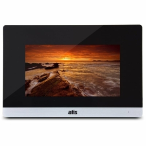 Домофони/Відеодомофони Відеодомофон Atis AD-750FHD S Black