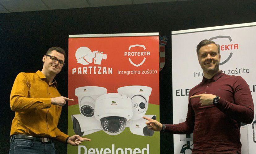 Video surveillance Partizan at the conference in Croatia
